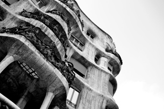 La Pedrera - Casa Milà by the Catalan architect Antoni Gaudí