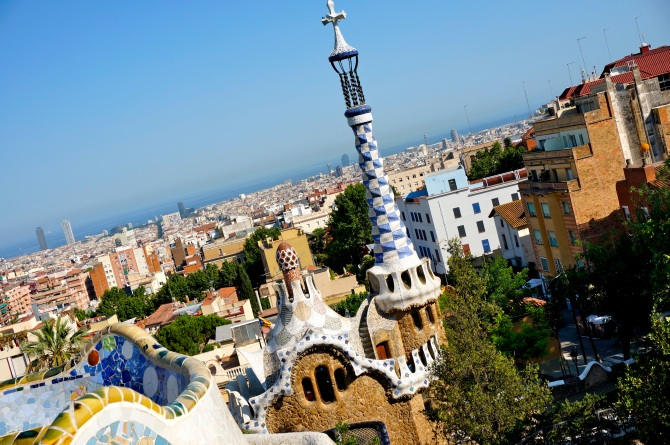 Park Güell by Antoni Gaudí - mosaic masterpiece